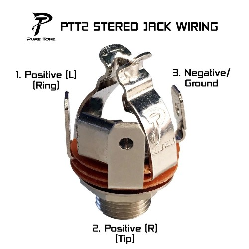GOTOH VINTAGE REVERSE BASS MACHINE HEAD NICKEL