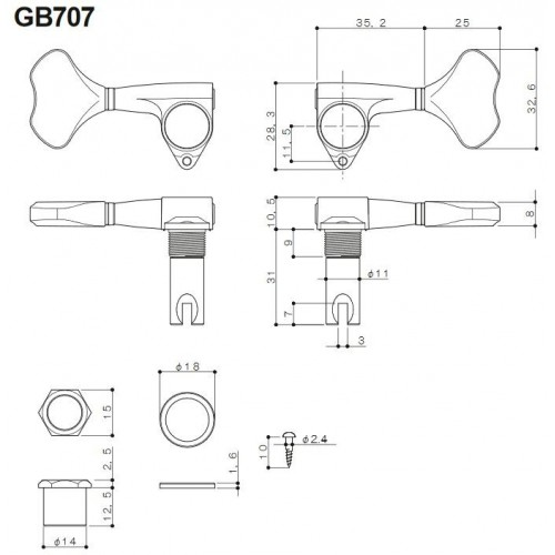 KEELEY COMPRESSOR 4 KNOB