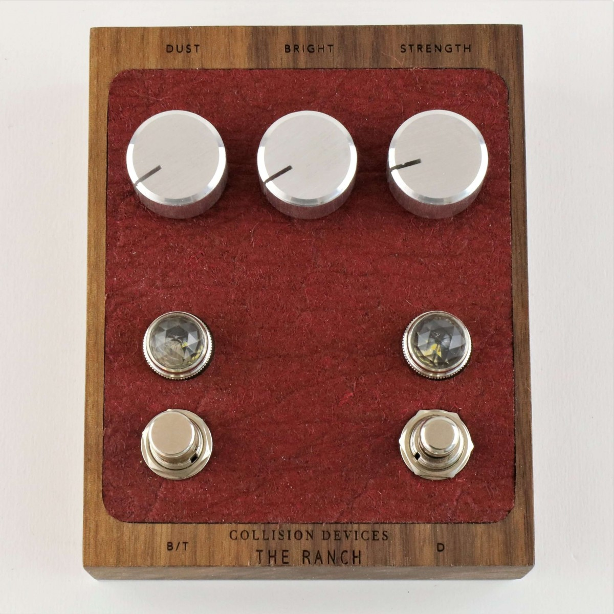 "Kluson ""grover Button"" 3+3 Autobloccanti Gold"