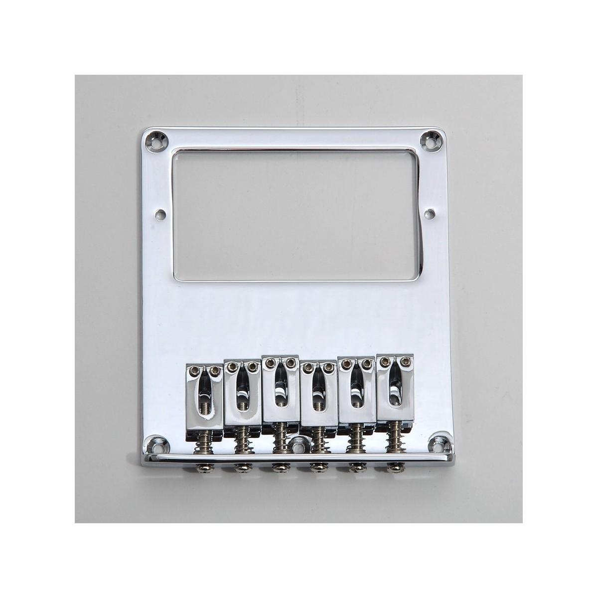 TONEPROS TP6 PONTE NASHVILLE TUNE-O-MATIC SMALL INSERTS CHROME