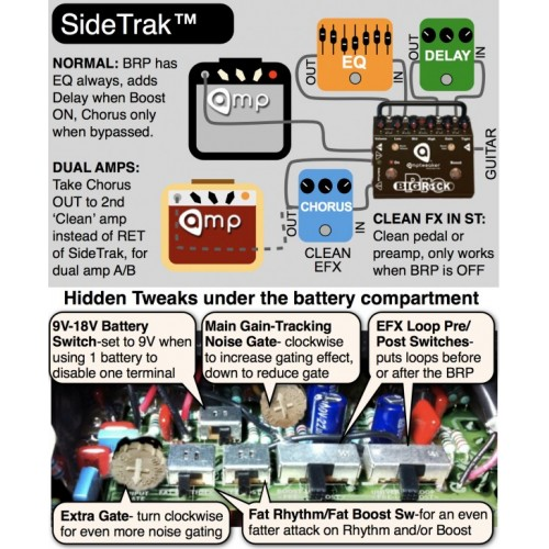 NORDSTRAND DC4 DUAL COIL 4 STRINGS (IN SERIE) NECK
