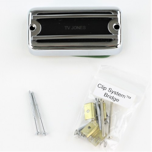 STACK KNOB PER POT COASSIALE CHROME