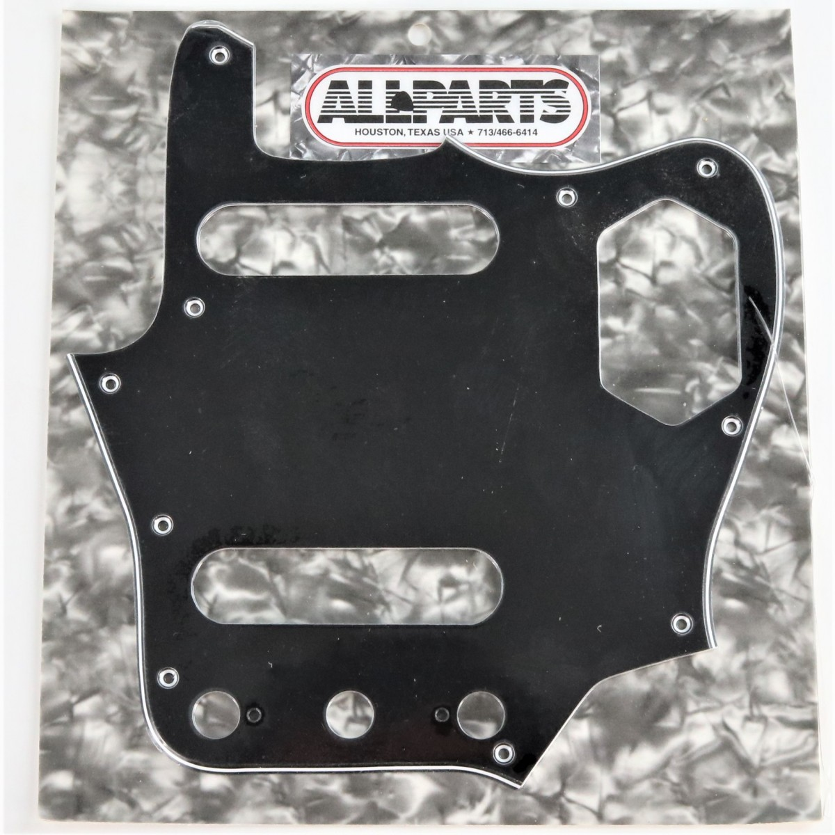 Voodoocaster Trans. White Relic