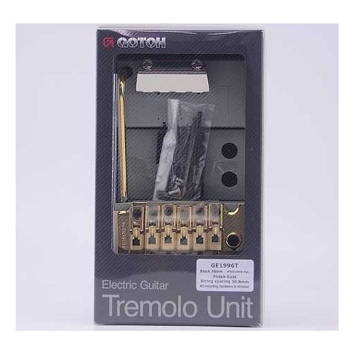 "KLUSON MT33G ""TULIP BUTTON"" 3+3 GOLD"